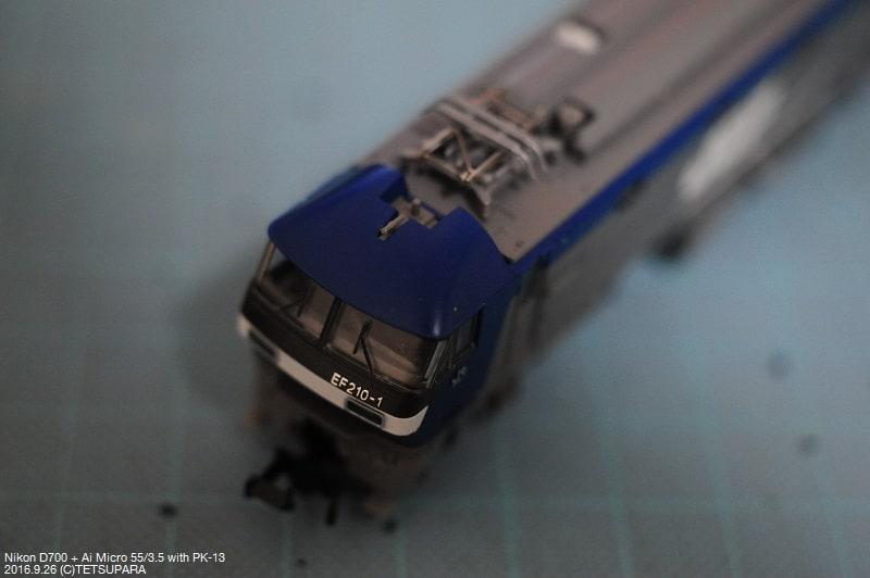 TOMIX EF210の重要部検査