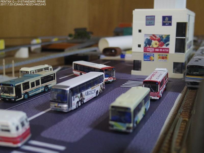 【押入レイアウト】駅前道路の製作 その1