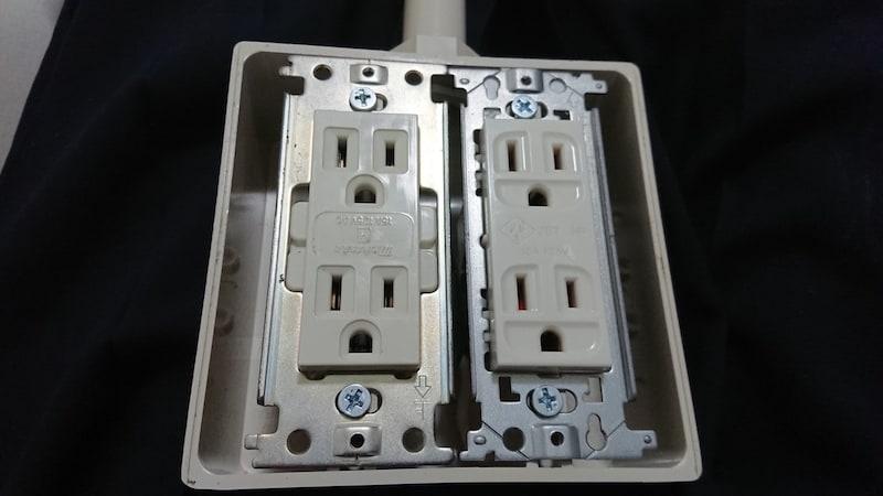 自作電源タップ・その2 ホスピタルグレードの壁コンで電源タップを作る!