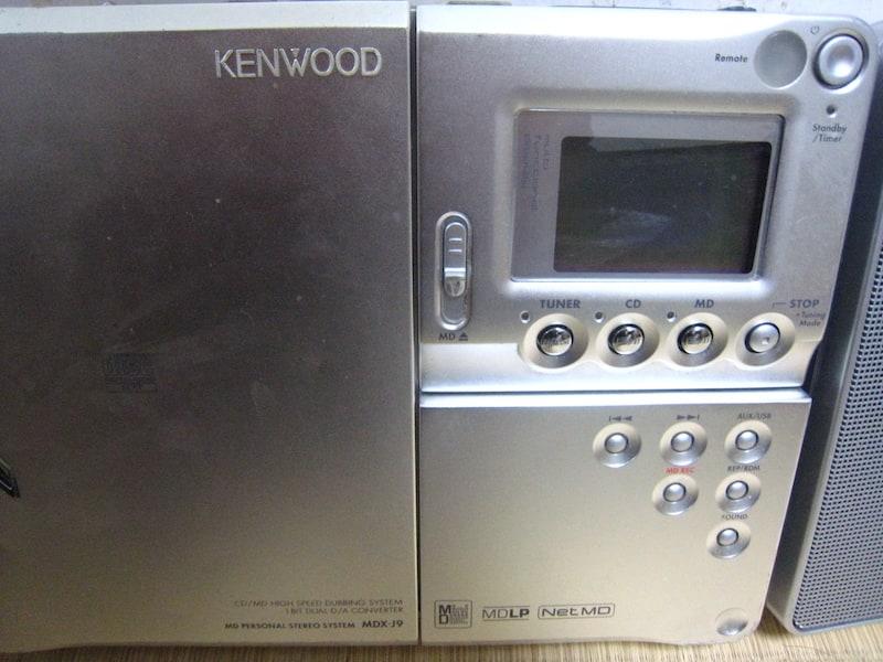 USBもOKのMDコンポ「KENWOOD MDX-J9」で遊ぶ!